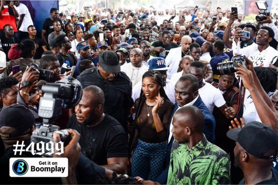 If you missed this yesterday then it was your loss.   @tiwasavage performed her heart out for us.   @BoomplayMusicNG put together this wonderful event. #TiwaSavageInLagos #4999InLagos #Boomplay<br>http://pic.twitter.com/BTqOQRktj8