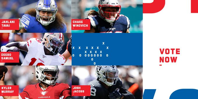 VOTE for the @pepsi Rookie of the Week: https://t.co/Ks3v6QXt7W