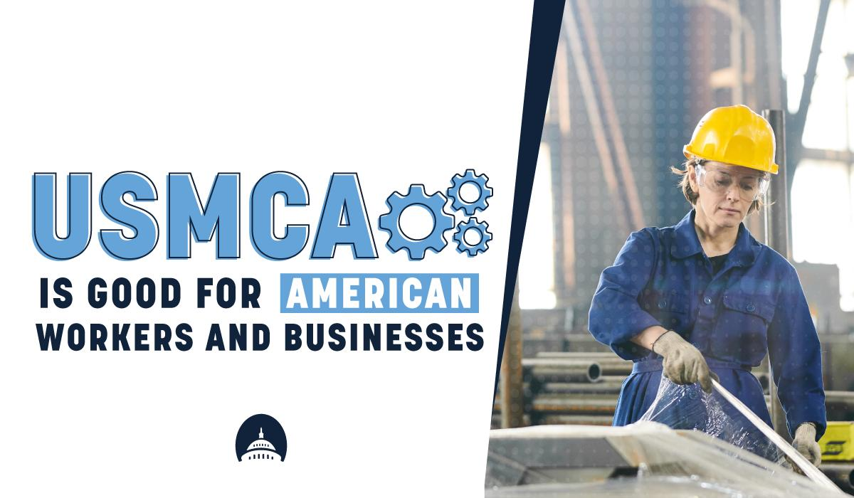 USMCA will level the playing field for American workers by requiring Mexico to overhaul its labor system and put an end to unfair practices. We need to vote on USMCA without delay.