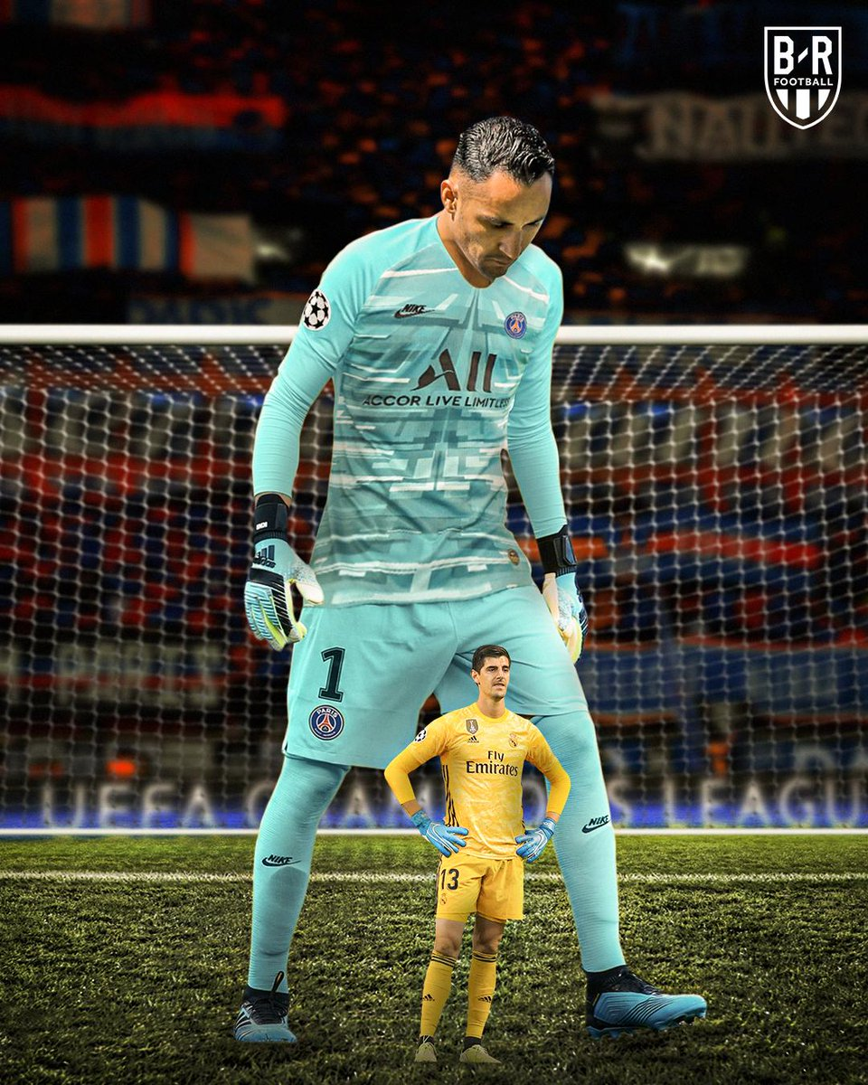 Image result for keylor navas thibaut courtois