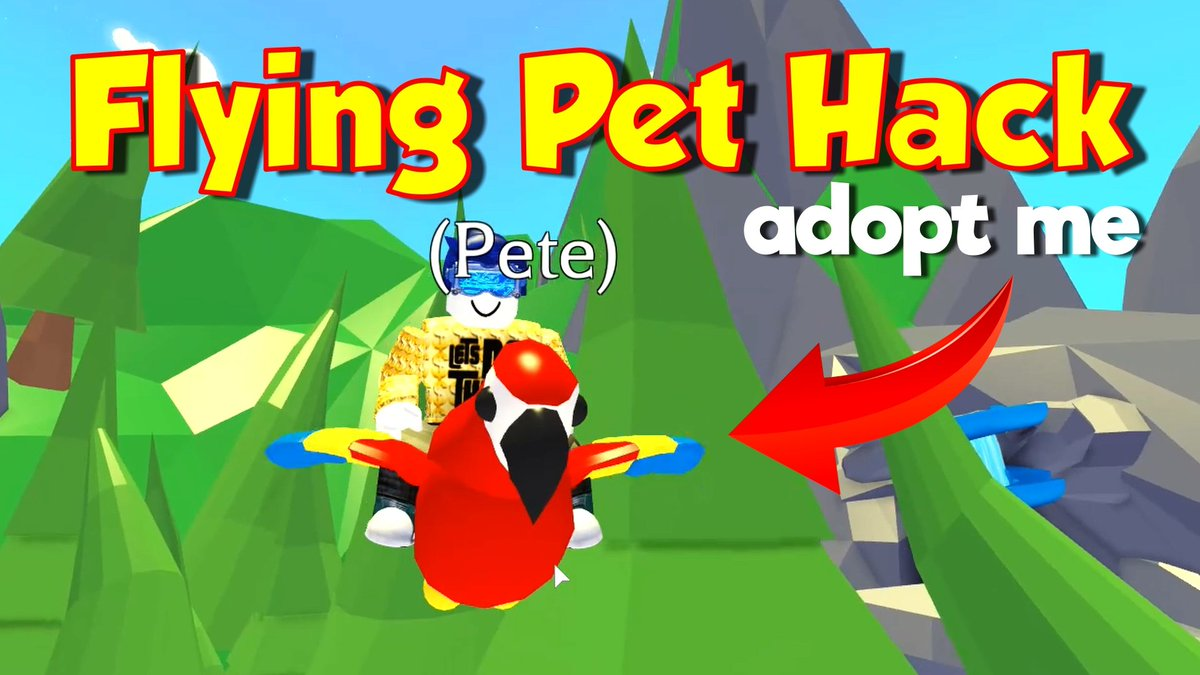 Letsdothisgaming On Twitter Want To Make Your Pet Fly For Free Then Check Out This Cool Flying Pet Hack No Robux But Still A Lot Of Fun Https T Co Ik21a0wgnc Adoptme Adoptmepets Adoptmehacks