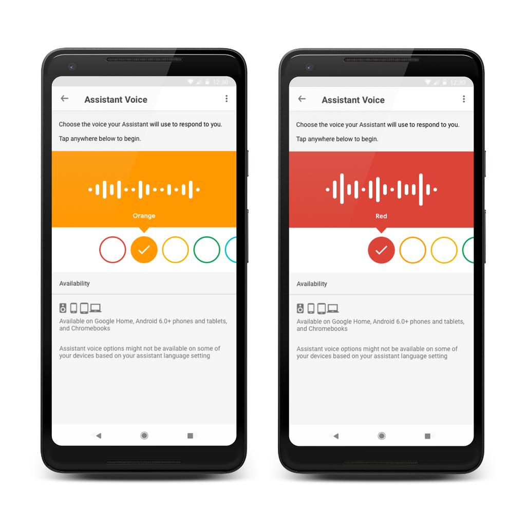 #HeyGoogle, you sound different today. Now, you can choose a new voice for your Assistant in nine more languages → http://goo.gle/2krnxyc