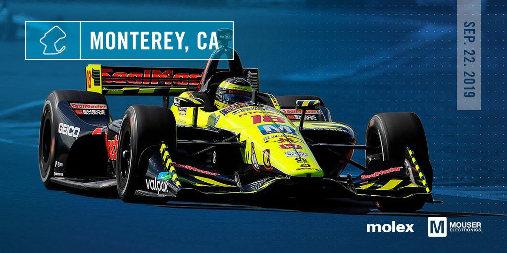 Coming off a nail-biting race at the Portland International Speedway in Oregon, Mouser-sponsored driver Sebastien Bourdais is gearing up for the IndyCar seasons last race on Sunday. Good luck @BourdaisOnTrack& @vsindycar! Follow along: @MouserRacing mouser.com/indy-racing/