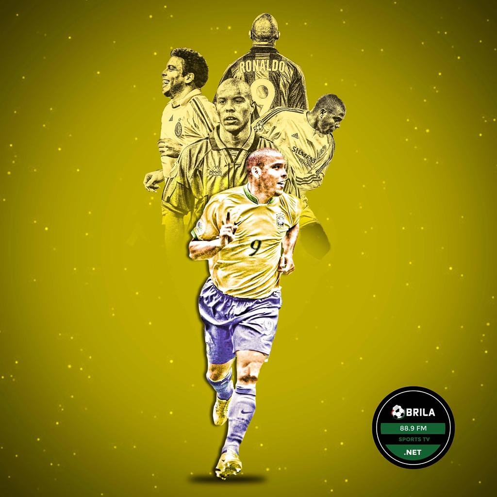 Happy Birthday to Brazilian football Legend, El Fenomeno and Goal Machine, Happy Birthday to Ronaldo Luis Nazario de Lima.   Drop a birthday wish for the Real GOAT.  #brilafm #brilasports #brazil<br>http://pic.twitter.com/S1XAzjy00E