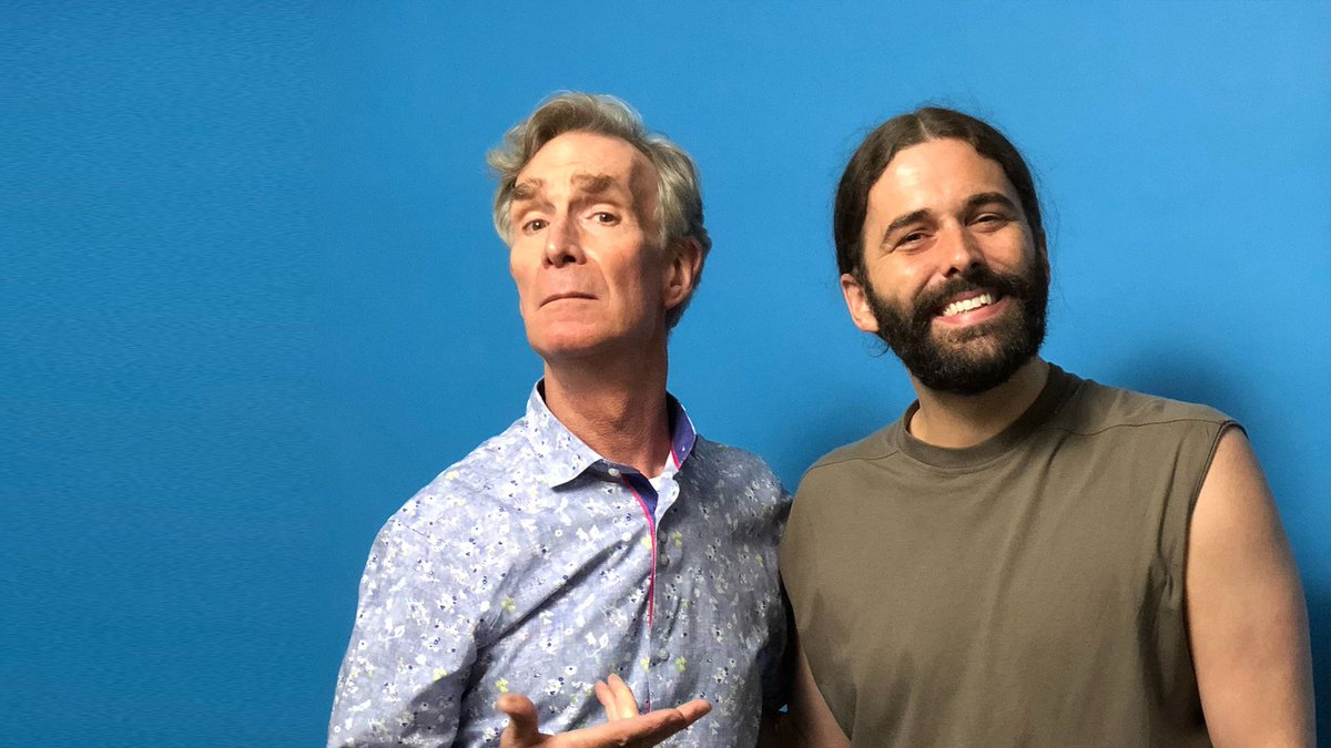 Today on @CuriouswithJVN — @BillNye 🎉