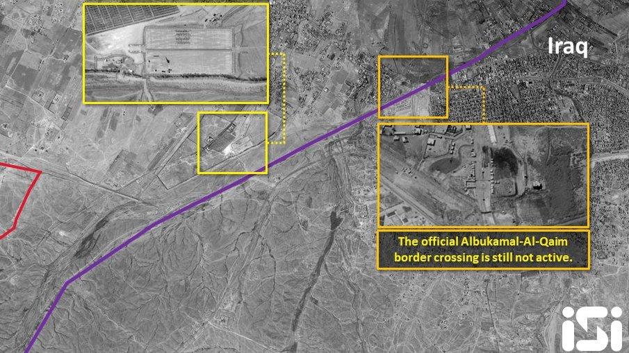 مقاتلات سعودية هاجمت مواقع إيرانية في البوكمال السورية EExOIIXWwAAL0sF