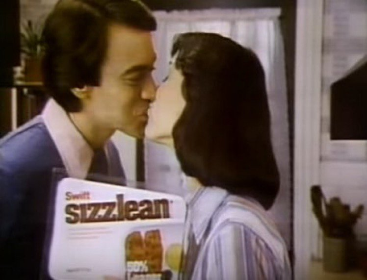 Move over, bacon, because my woman is about to fry up some goddamn Sizzlean.