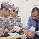 Image for the Tweet beginning: طلاب الصف السابع يطبقون الاستقصاء