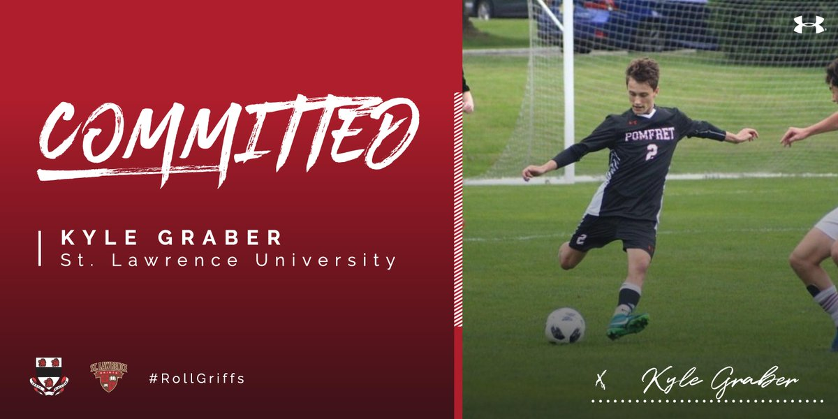Congratulations Kyle Graber on committing to St. Lawrence University!