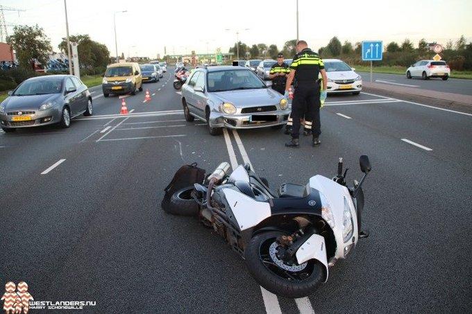 Motorrijder gewond na ongeluk Wippolderlaan https://t.co/ltGQ65fq43 https://t.co/YIUm4fk0R9