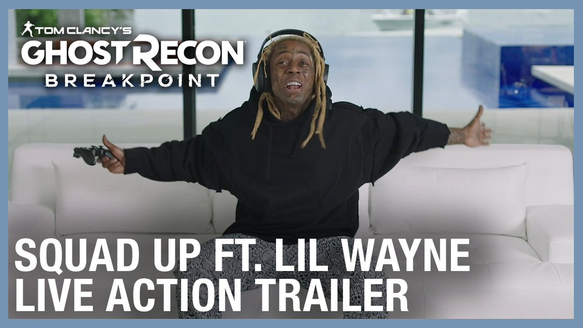 There's nothing stealth about Lil Wayne. Watch him light up Ghost Recon Breakpoint and check out the Open Beta starting September 26.Watch the trailer: https://xbx.lv/2mneM8X