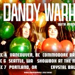 Image for the Tweet beginning: 🌟NEW🌟 The Dandy Warhols LIVE