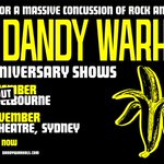 Image for the Tweet beginning: 🇦🇺 The Dandy Warhols LIVE