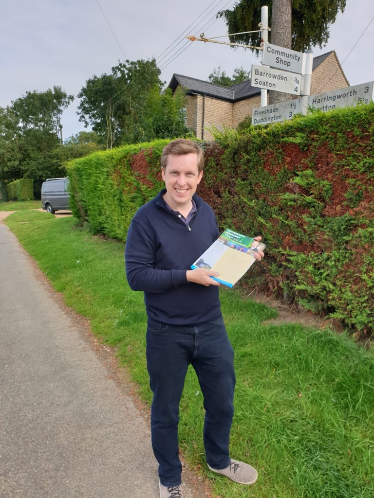 Great to be out delivering my latest #Westminster Report in Easton-on-the-Hill, Collyweston and Wakerley in the beautiful sunshine & it was good to have so many nice chats with people on the way round. Cant wait for yours to arrive? You can find it here: votepursglove.co.uk/my-2018-19-wes….