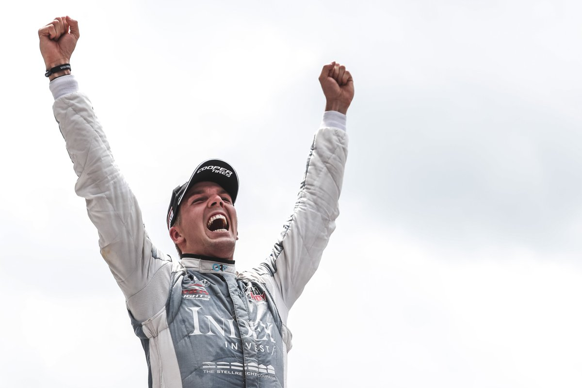 Once he starts the race, @Oliver_Askew will be crowned this years @IndyLights CHAMPION. But he still has a race he wants to win. Tune in NOW to @NBCSportsGold for the series finale to get you ready for the @IndyCar championship finale later today: nbcsports.com/gold/indycar