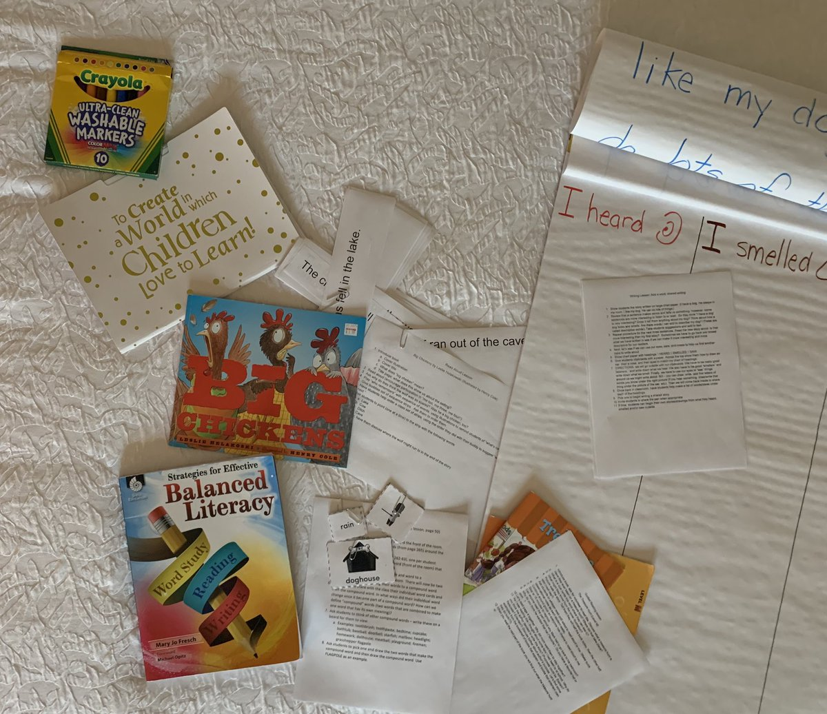 A great day watching K, 1st, and 2nd grade teachers at Mary Ford Elementary. Tomorrow-I get to teach. Cannot wait! Great #balancedliteracy going on in these classrooms. @tcmpub @shelleducation #mytcm <br>http://pic.twitter.com/W5pdXruWYI