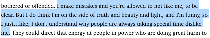 Lauren Duca, taking the words right out of my goddam mouth!