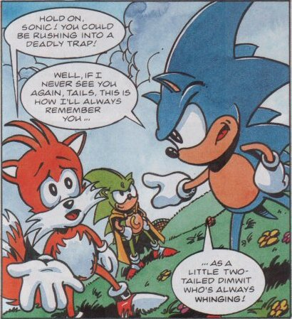 RT @robo_friend: Fleetway Sonic needs to be arrested for the shit he says to Tails https://t.co/XgPwSj7y5p