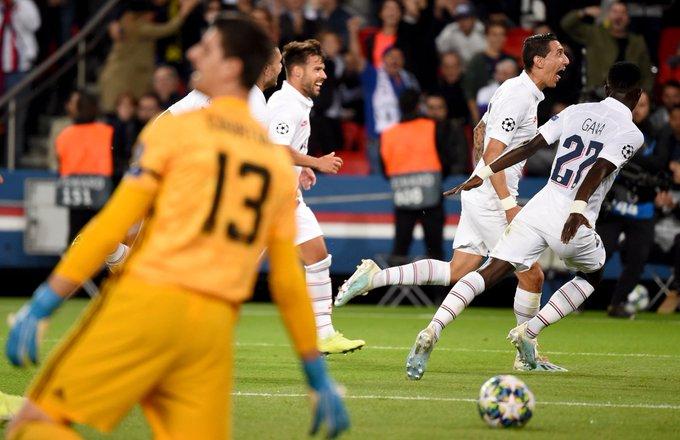 #LigadeCampeones | El PSG goleó al Real Madrid con un doblete de Di María