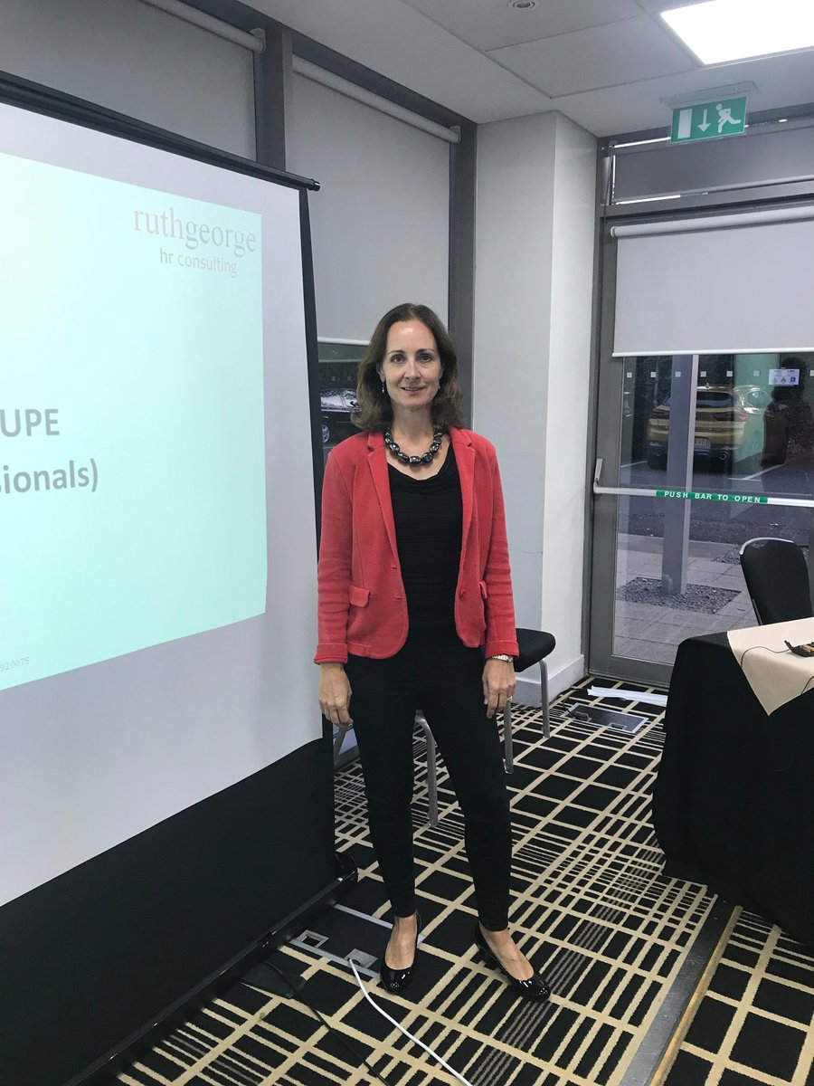 Great start to the Herts CIPD Autumn season with a session on TUPE led by @RuthGeorgeHR. Lots of practical advice and many questions answered. #HR #TUPE #CPD #networking