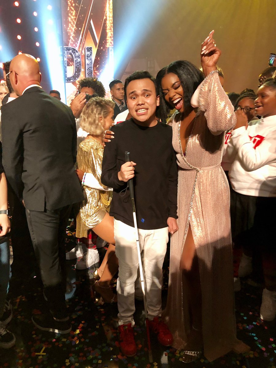 You did it @Kodileerocks!!!!!!! From the first note you sang, I knew you were something special and that you were here to change the world. I am SO proud of you my #goldenbuzzer. This is just the beginning. #agt