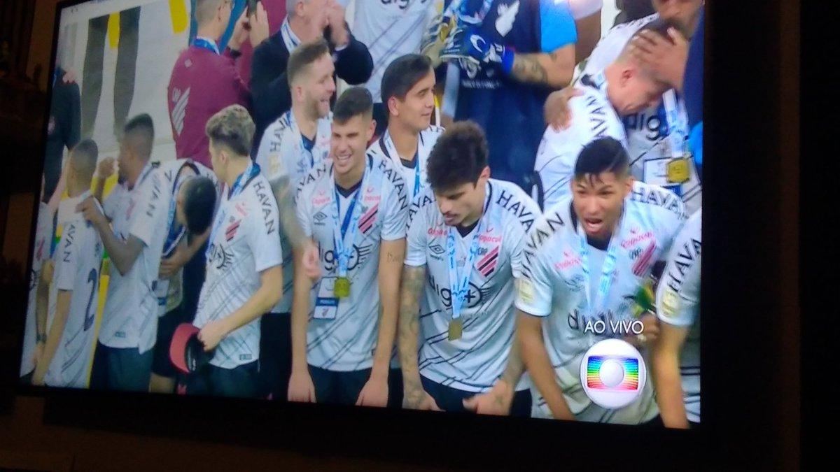 Parabéns athletico #CopaDoBrasil #FutebolNaGlobo