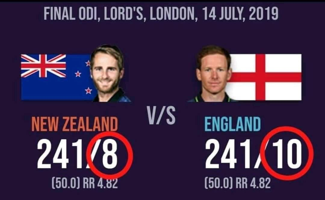 Let's make @englandcricket victory dignified 🕵️♂️ Be The Example ICC 🙂 Don't leave future generation wondering why the trophy was not shared right away 🤦♂️#sharethetrophy #yeswekane #backtheblackcaps