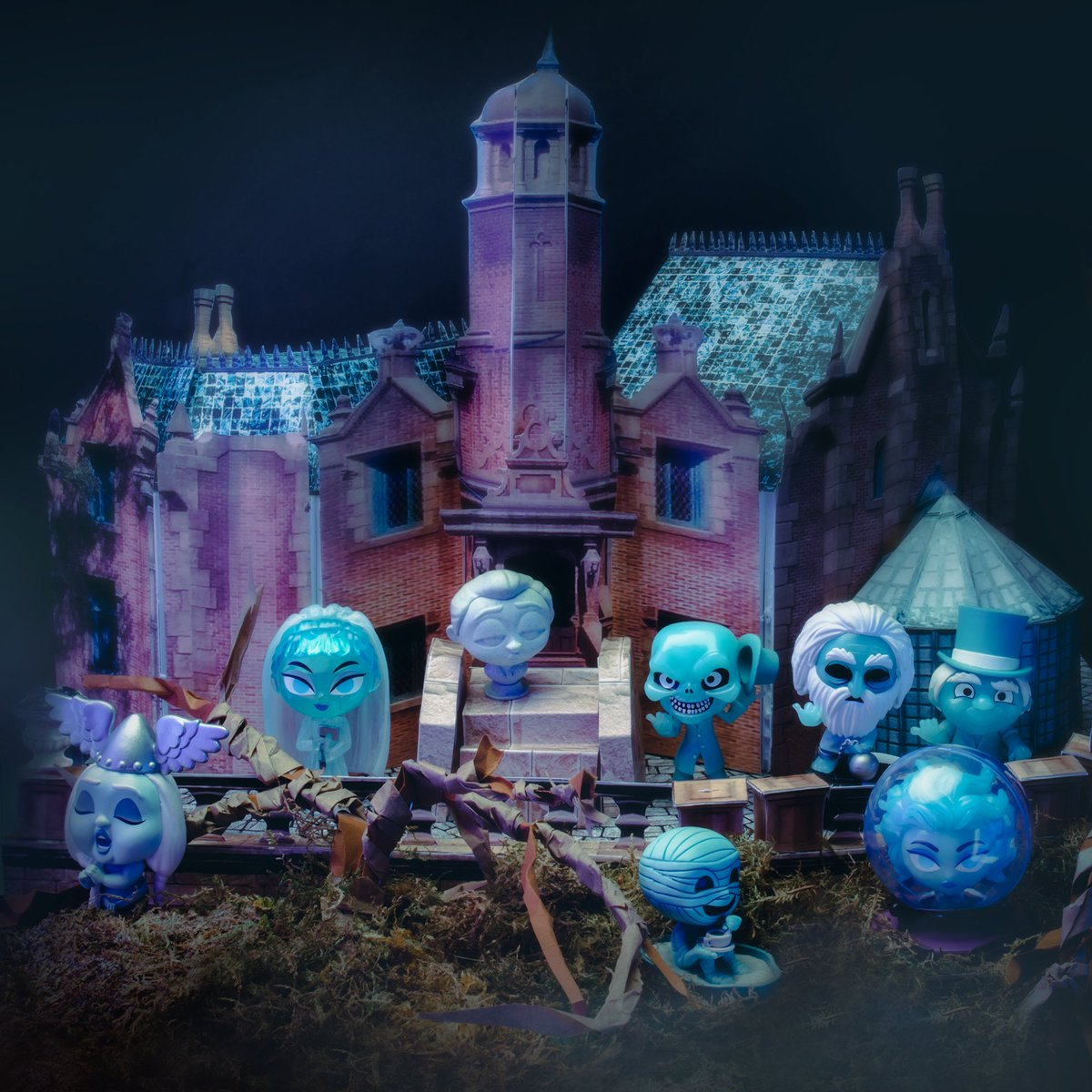 Welcome, foolish mortals, to the Haunted Mansion 👻. #Funko #FunkoPhotography #Photo #Disney #TheHauntedMansion