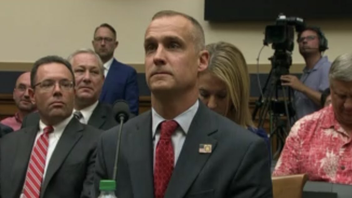 WHY WASN'T LEWANDOWSKI HELD IN CONTEMPT? 🤬 He has never been a staff member of the White House & cannot cite executive privilege, as Shitgibbon wasn't president during the campaign. @HouseJudiciary