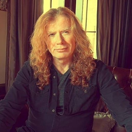 Happy Birthday to  Dave Mustaine. 61 anos completados hoje