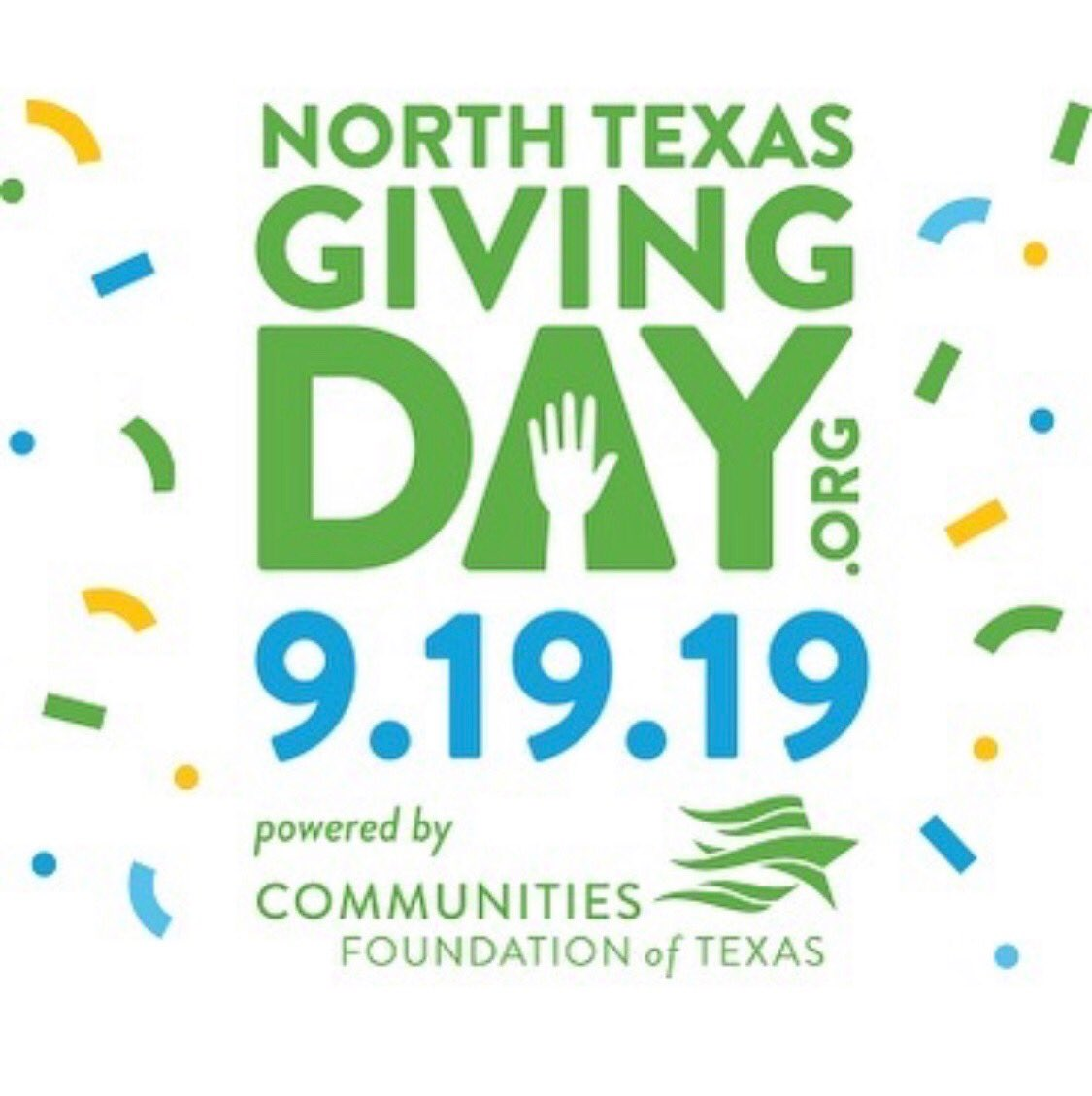 Tomorrow is the big day! No gift is too small! Get up and give on #NTxGivingDay  @GiveWisely