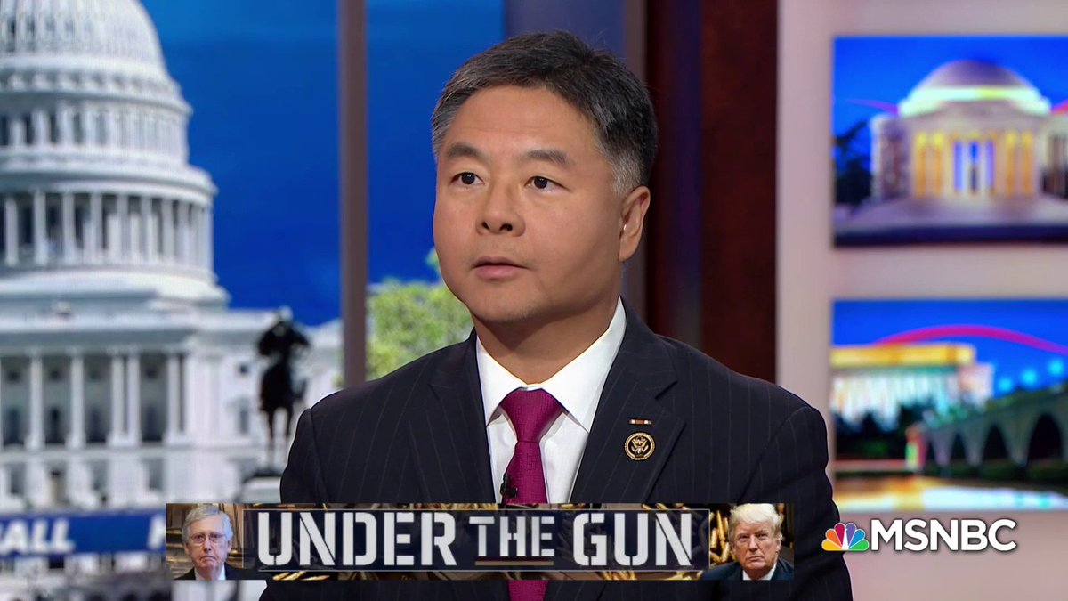 Your bill is not a confiscation bill. @HardballChris It is not. The House passed on a bipartisan basis universal background checks legislation. @tedlieu on Kellyanne Conways false statement that the House passed a gun confiscation bill. #Hardball