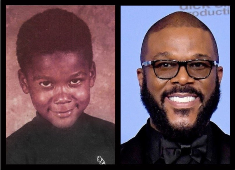"""Dear 5 year old me, May I just say, """"Thank you to the little boy that I was. Thank you for all you went through to allow me to be the man I am today. I love you, and I am so thankful to God that you survived. Even when I didn't want to... continued: facebook.com/TylerPerry/pho…"""