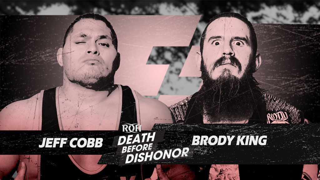 ROH Announces Jeff Cobb Vs. Brody King For Death Before Dishonor Pre-Show