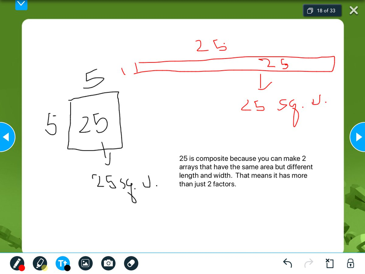 Nearpod Lesson on Prime and Composite gave our ATS Stars another opportunity to use concrete and pictorial models to justify their thinking!  ATS Rockin' the true intent of the standards! <a target='_blank' href='http://twitter.com/ats_math'>@ats_math</a> <a target='_blank' href='http://twitter.com/ats_pta'>@ats_pta</a> <a target='_blank' href='http://twitter.com/APSMath'>@APSMath</a> <a target='_blank' href='http://twitter.com/APS_ATS'>@APS_ATS</a> <a target='_blank' href='https://t.co/t7nkZNN0R4'>https://t.co/t7nkZNN0R4</a>