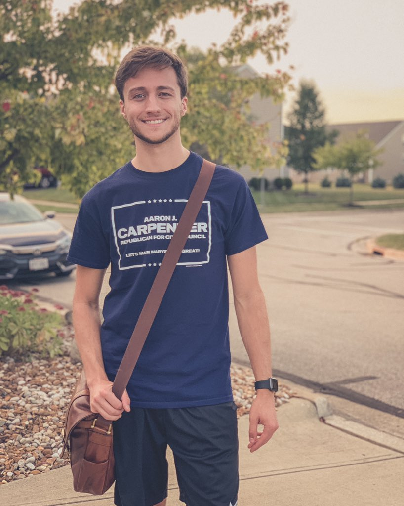 Tonight I am very proud to say that have officially knocked on EVERY single door in Marysville's Ward One district for City Council: • 2,000+ homes • 300+ hours on the trail • 30+ hours in conversation alone  Folks, this is how you win an election. #MakeMarysvilleGreat🇺🇸