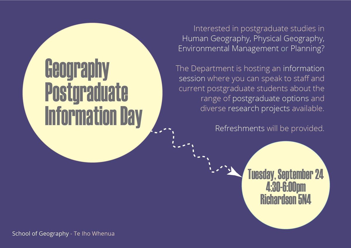 Human Geography Current Events 2020.Otago Uni Geography On Twitter Geography Wants You Come