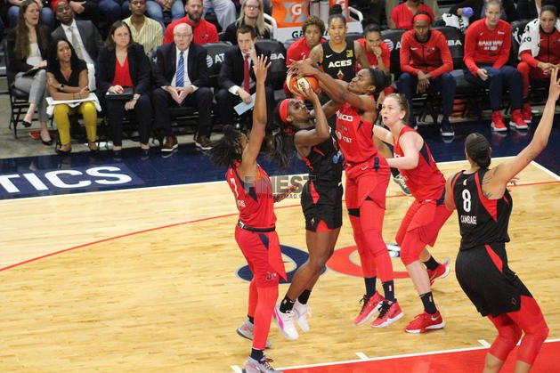 @WNBA Semifinals- Washington Mystics vs Las Vegas Aces Game Two Preview ➡️ https://www.finestmag.com/single-post/2019/09/18/Washington-Mystics-vs-Las-Vegas-Aces-Game-Two-Preview …  #TheFocusTV #WNBAPlayoffs #MysticsAces