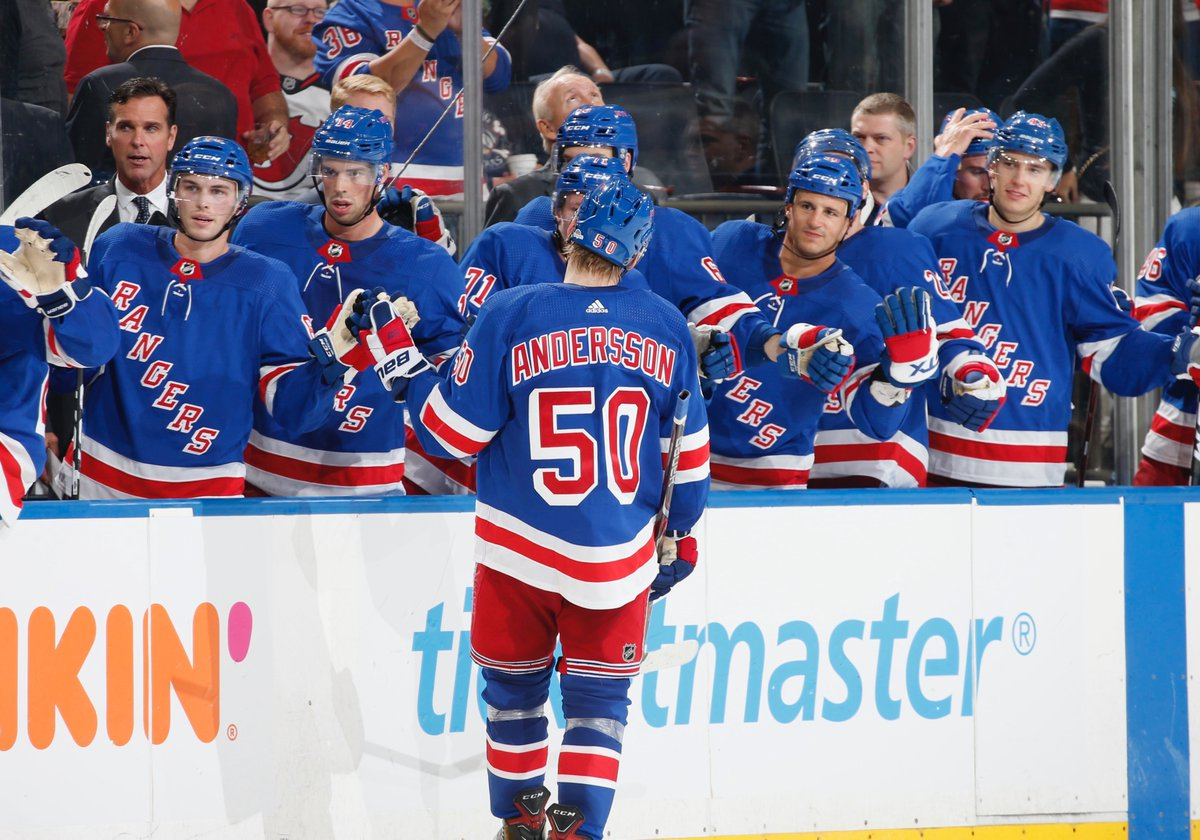 New York Rangers @NYRangers