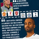 Image for the Tweet beginning: Lucas Moura foi simples e