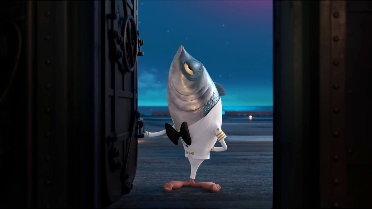 oh my god Chris Parnell straight up voices a fish with human feet, why didnt anyone tell me about this film