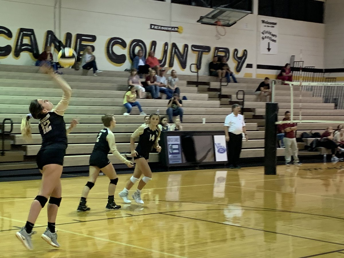 Congrats to @Citrus_Canes Varsity VB Squad for their W vs a solid NMHS team.  Excellent team effort and energy!!!!  Keep up the great work Lady Canes!!  @CHSCanes #onehurricane <br>http://pic.twitter.com/khFkjGehVz