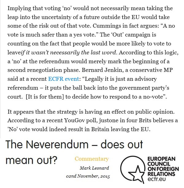 @afneil No, the government leaflet does not accurately define what parliaments agreed to, Andrew. Here is Bernard Jenkin explaining what parliament had agreed to back in 2015.