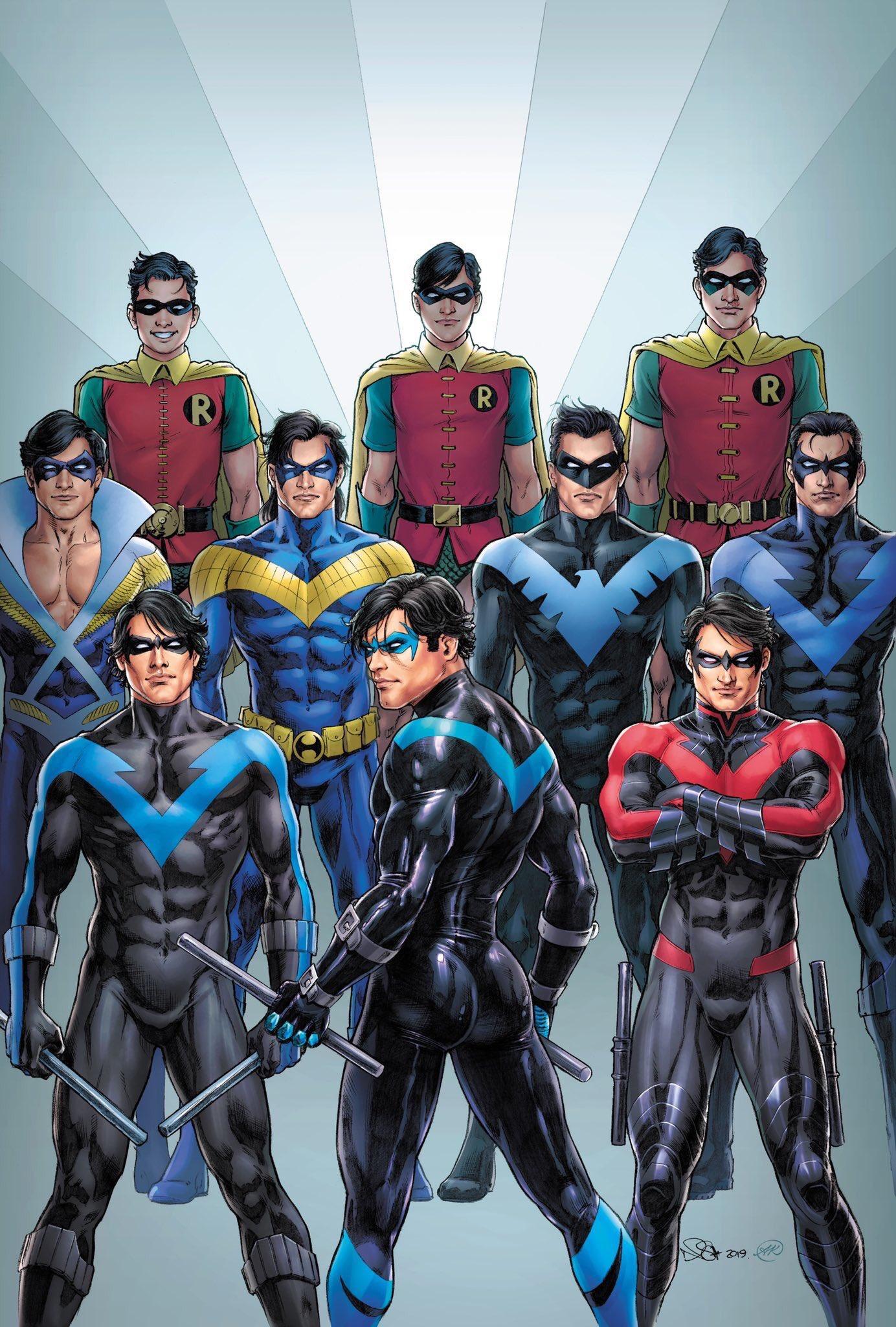"""Miguel Parpadeos в Twitter: """"Ustedes saludando el trasero de América, sin  haber visto el de Nightwing.… """""""
