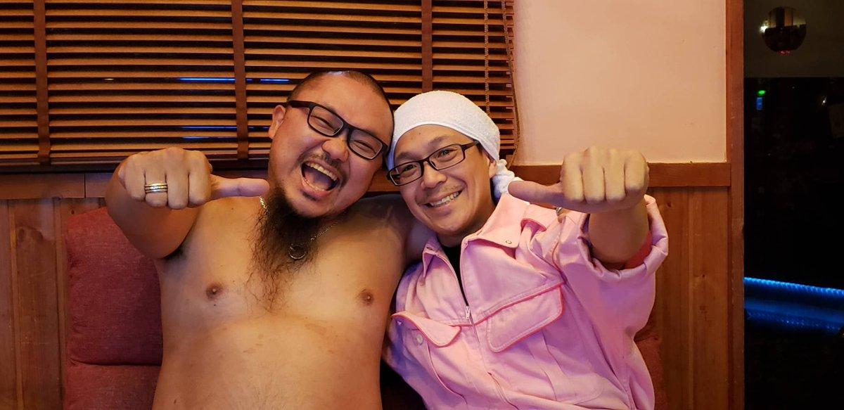 """ゼウス松戸 on Twitter: """"閉店後に髭原人しゃんとこしあんしゃんが ..."""