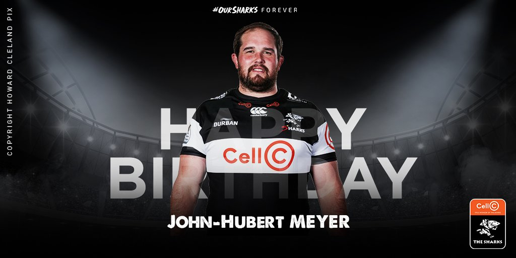 Happy Birthday to #OurSharks prop John Hubert Meyer, we hope you have a 'fin'tastic day 🦈🎁 #OurSharksForever