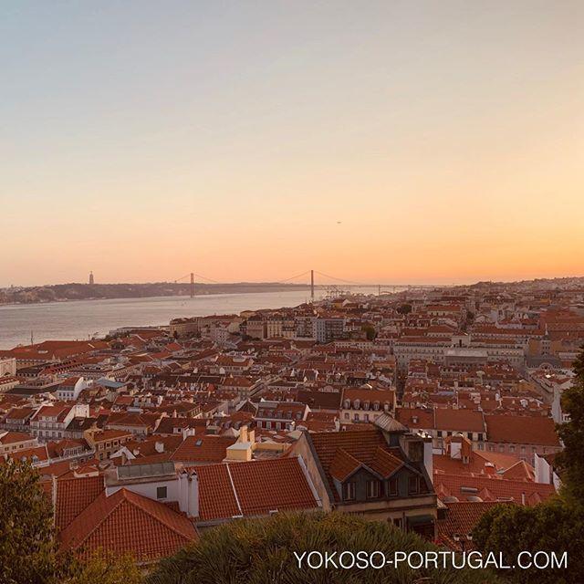 test ツイッターメディア - オレンジ色に輝くリスボンのサンセット。 #リスボン #ポルトガル https://t.co/Z4cJfjSjpj