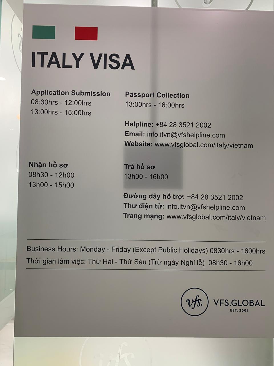 Italy In Vietnam On Twitter New Premises For The Italian Visa Application Centre In Hanoi