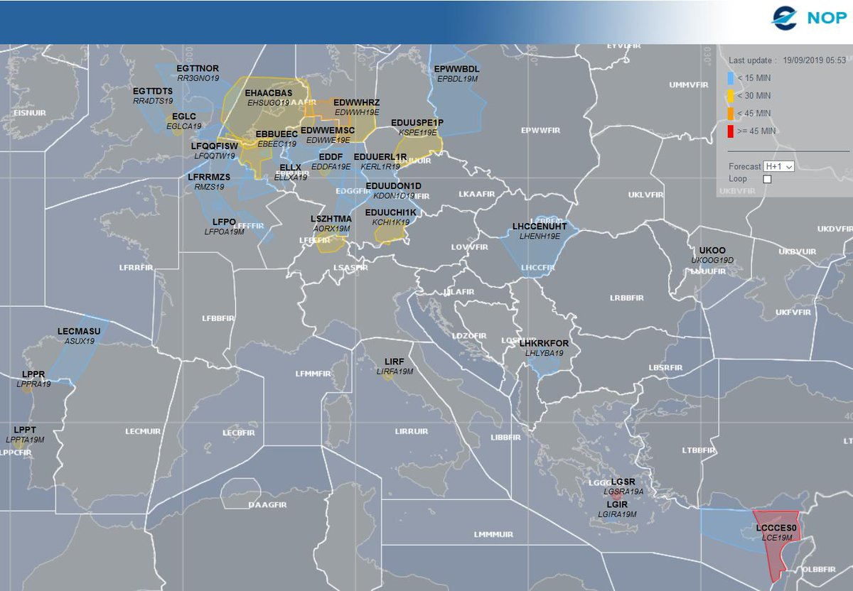 Eurocontrol On Twitter Good Morning Some Weather Related
