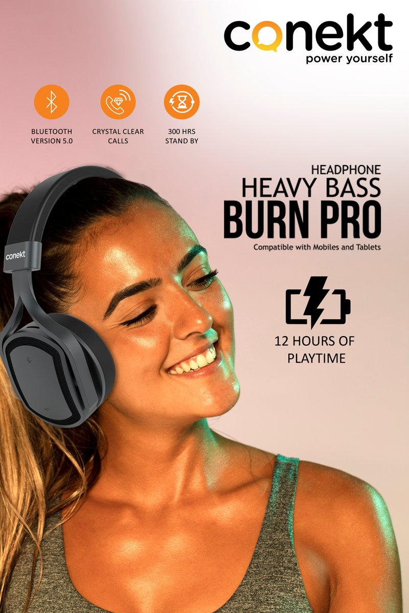 #Experience the HD Sound & More #Comfort with #HeavyBass Bluetooth Headphone BURN PROExplore Our more Products http://www.conekt.in 👈👈👈For Buying Online https://tinyurl.com/y4qlnwyu 👈👈👈👈#Rohitsharma #Hitman #CWC19 #Worldcup19 #MobileGadgets #Conekt #Poweryourself
